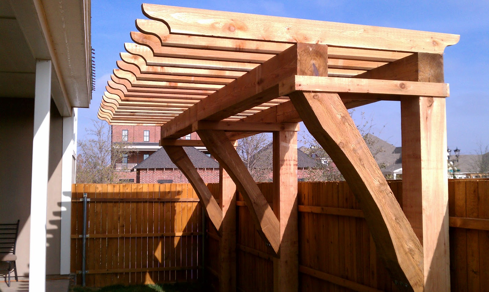 Pergolas Arbors And Decks In Lubbock Tx