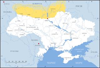 карта Полісся