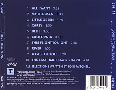La Musica De Abel Johnny Clara Y Cia Joni Mitchel Blue