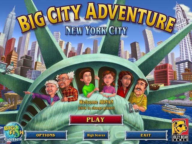 Big City Adventure Reihenfolge