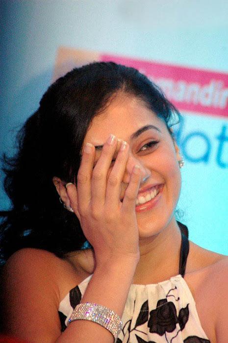 tapsee in white skin at kalamandir foundation actress pics