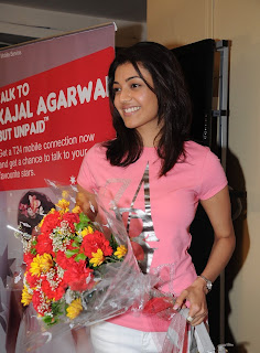 Kajal Aggarwal at Hyderabad Central for Talk 24
