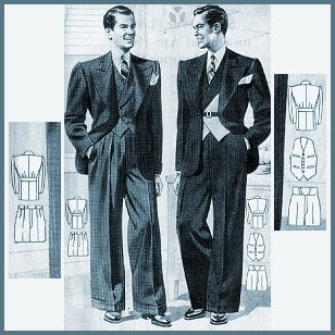 Jazz Age Men's Clothing