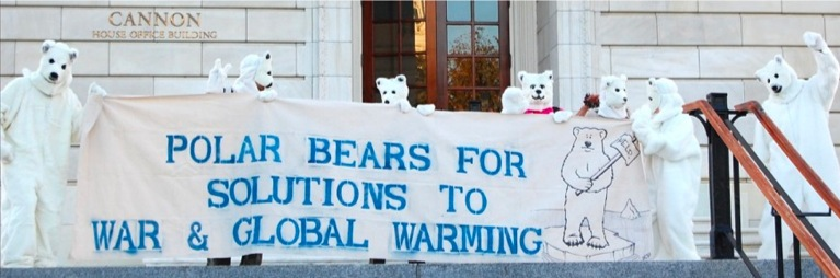 Polar Bears for Solutions to War & Global Warming