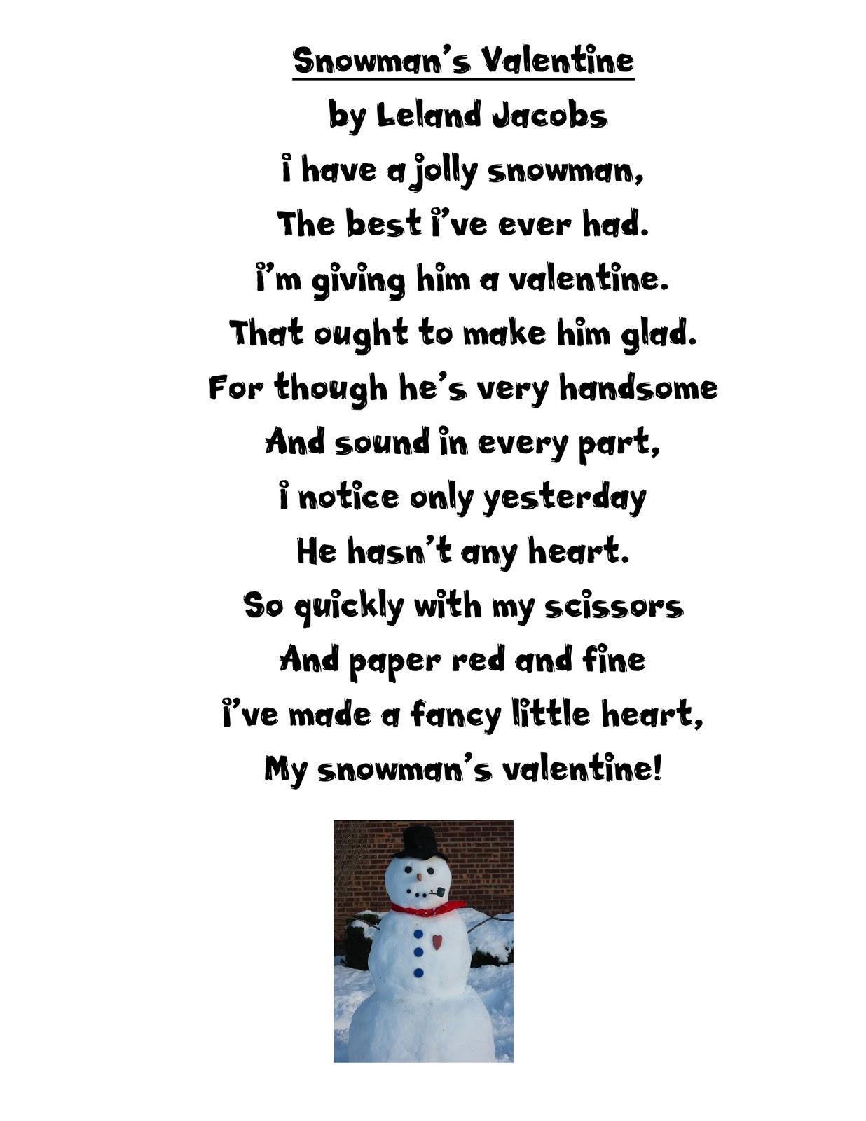 Just 4 Teachers Sharing Across Borders My Snowman S