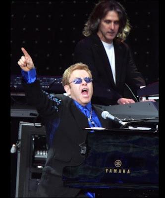 Elton John charity concert