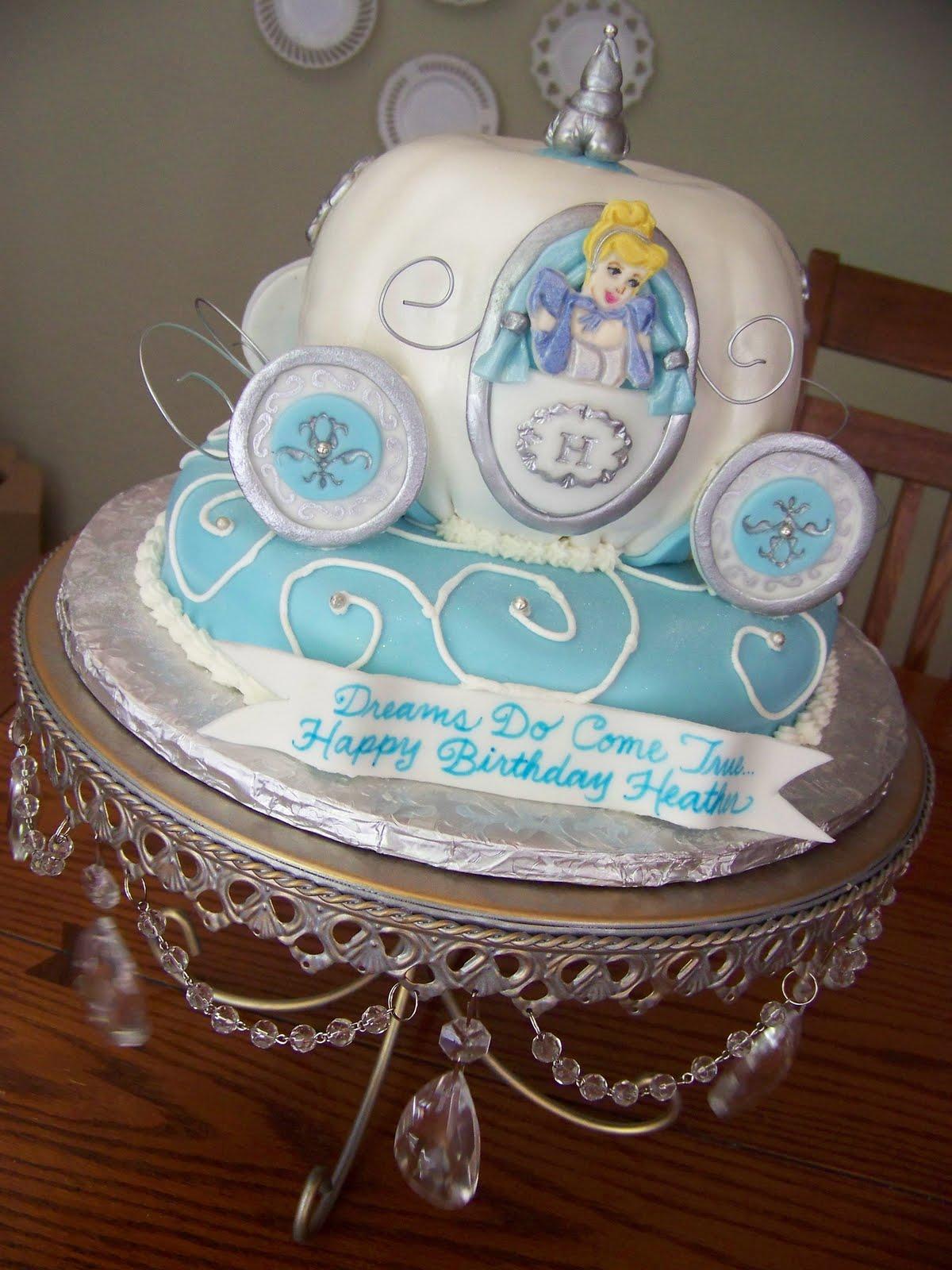 Plumeria Cake Studio Cinderella S Carriage Cake