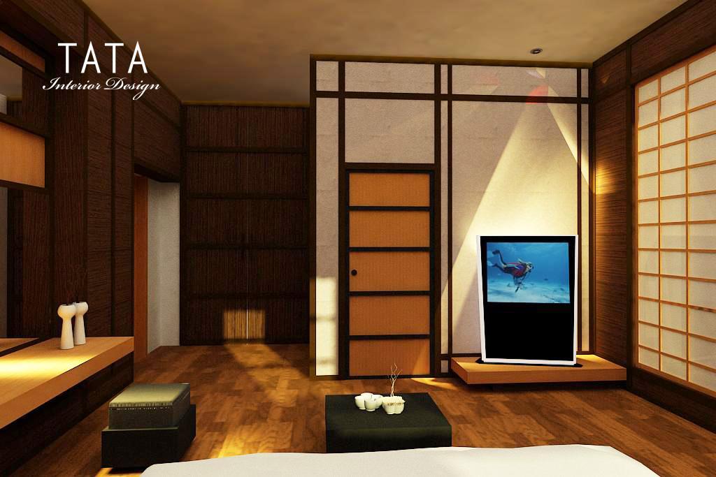 Desain Kamar Tidur Jepang Modern