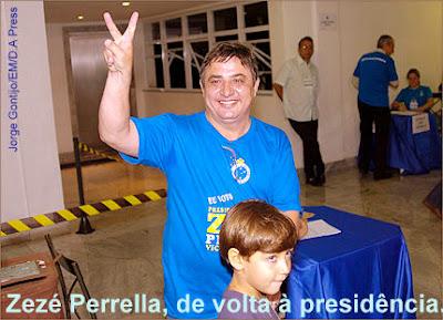 Zezé Perrella (PDT),presidente do cruzeiro suplente de Itamar franco