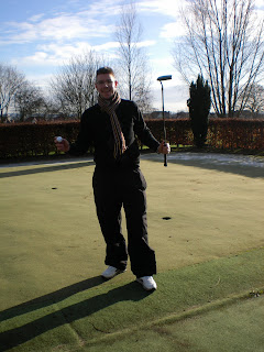 Mini Golf Putting at Stanmore and Edgware Golf Club in London