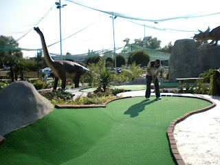 Jurassic Encounter Adventure Golf course in New Malden