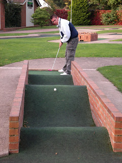 Minigolf at the Four Ashes Golf Centre in Dorridge, Solihull