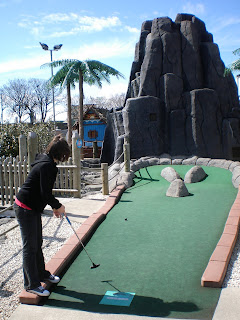 Pirate Island Adventure Golf at Codona's Amusement Park in Aberdeen