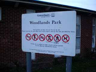 Woodlands Park in Gravesend, Kent