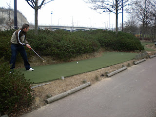 9-Hole Putting course at Bluewater Shopping Centre in Kent