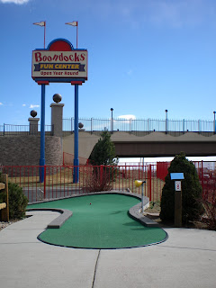 Mini Golf at Boondock Fun Center in Northglenn, Colorado