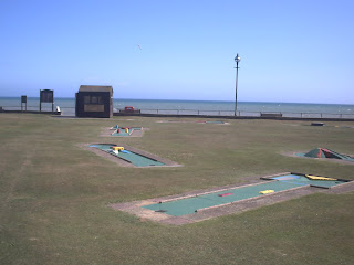 Crazy Golf in Bexhill on Sea