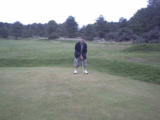 Mini Golf Putting at Pembrey Country Park