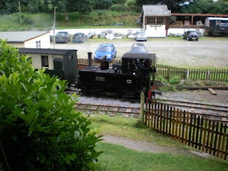 Henllan Station on the Teifi Valley Railway
