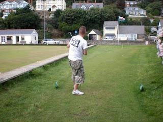 Mini Golf Putting Course at Aberdovey Bowling Club