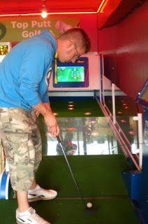 A 'Top Putt' machine on Llandudno Pier