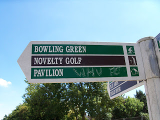 Novelty Crazy Golf at Wickford Memorial Park in Essex