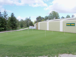 Putting Green at Kingsway Golf Centre in Melbourn