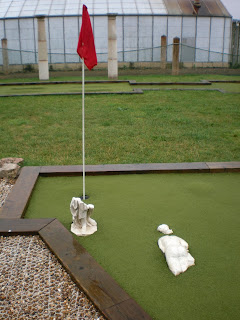 Wye Valley Miniature Golf course in Symonds Yat West