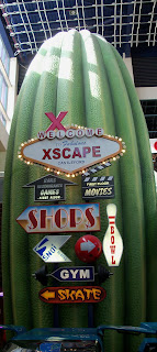 Cosmic Golf indoor minigolf at Xscape Yorkshire in Castleford