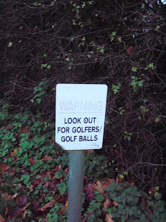 Golf Warning