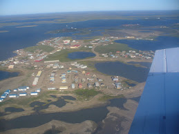 Flying over Tuk