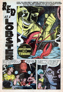 THE HORRORS OF IT ALL: Red As a Lobster / Jim Mooney (R I P )