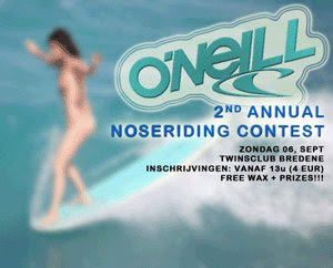 2nd annual noseriding contest Belgium Surfreport.be