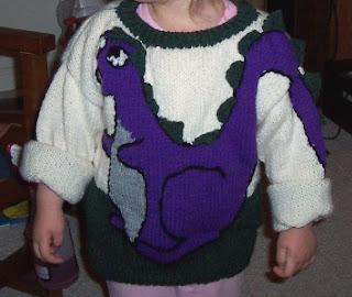 Dinosaur Scarf Knitting Pattern : KNITTED DINOSAUR SWEATER PATTERNS 1000 Free Patterns