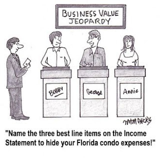 Tip #25: Excessive Personal Expenses Can Jeopardize Business Value