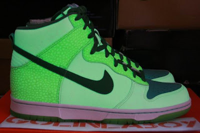new product 6cb7f e68ef DS Nike Dunk Hi Glow in the Dark 2 sz.9 SOLD