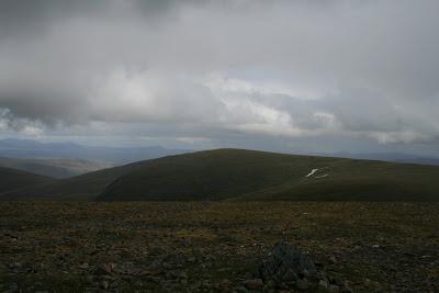 Sgairneach Mhor from Beinn Udlamain