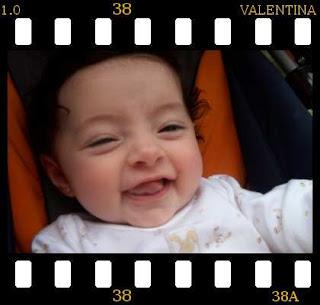 Valentina a los 3 meses