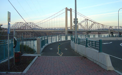 Al Zampa Memorial Bridge bike path