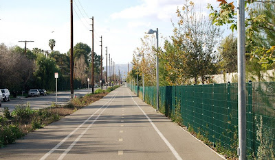 Image of Orange Line Bike Path in Los Angeles