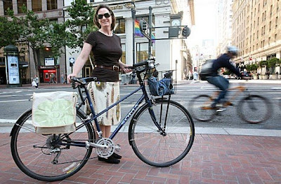 Image of bicyclist Cheryl Brinkman