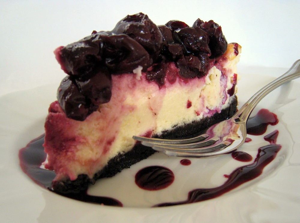 Apple A Day Black Forest Cheesecake