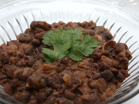 famous black beans