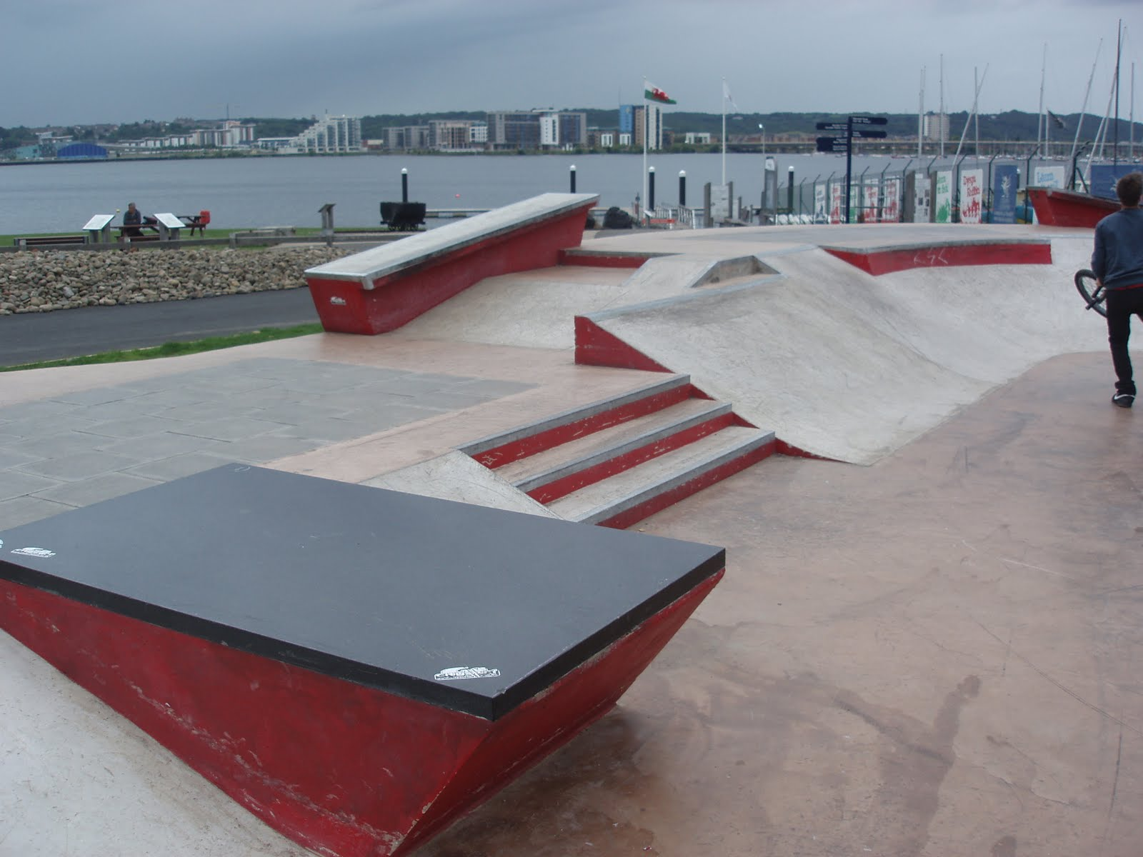 Peter Harries Cardiff Skate Plaza