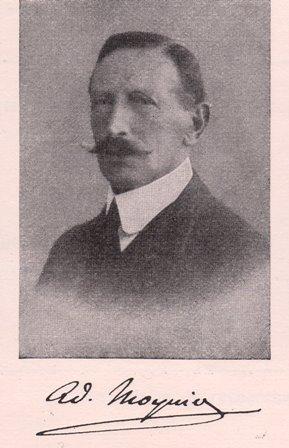 Adolphe Moynier,1860-1933. Fils de Fanny et Gustave