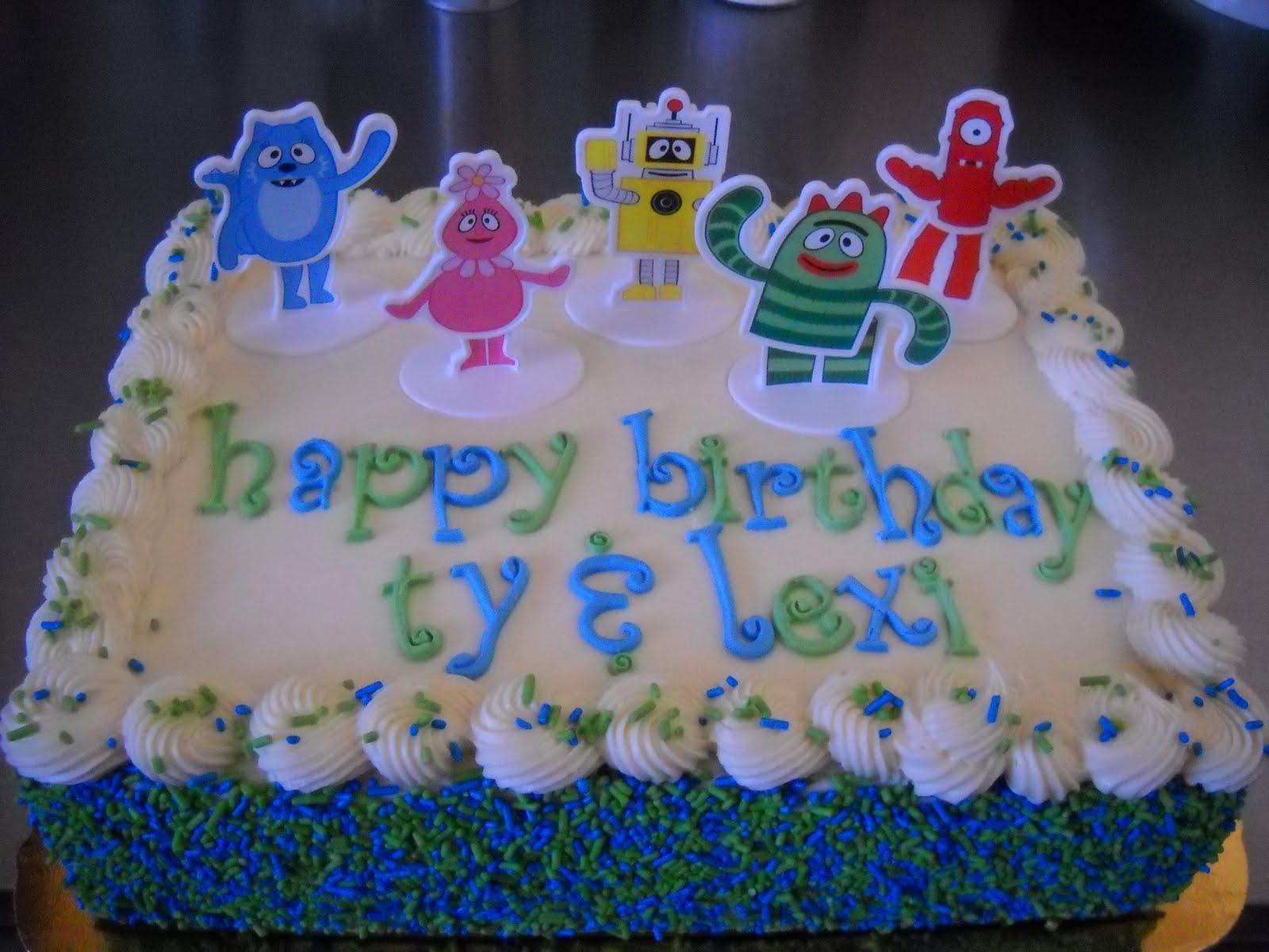 Tara S Piece Of Cake Yo Gabba Gabba