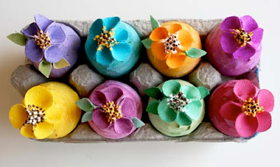 Canvas Easter Eggs
