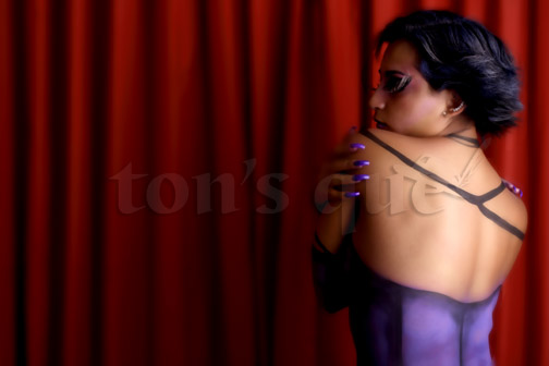 tonsque: DALIA HERNÁNDEZ. BODY PAINT