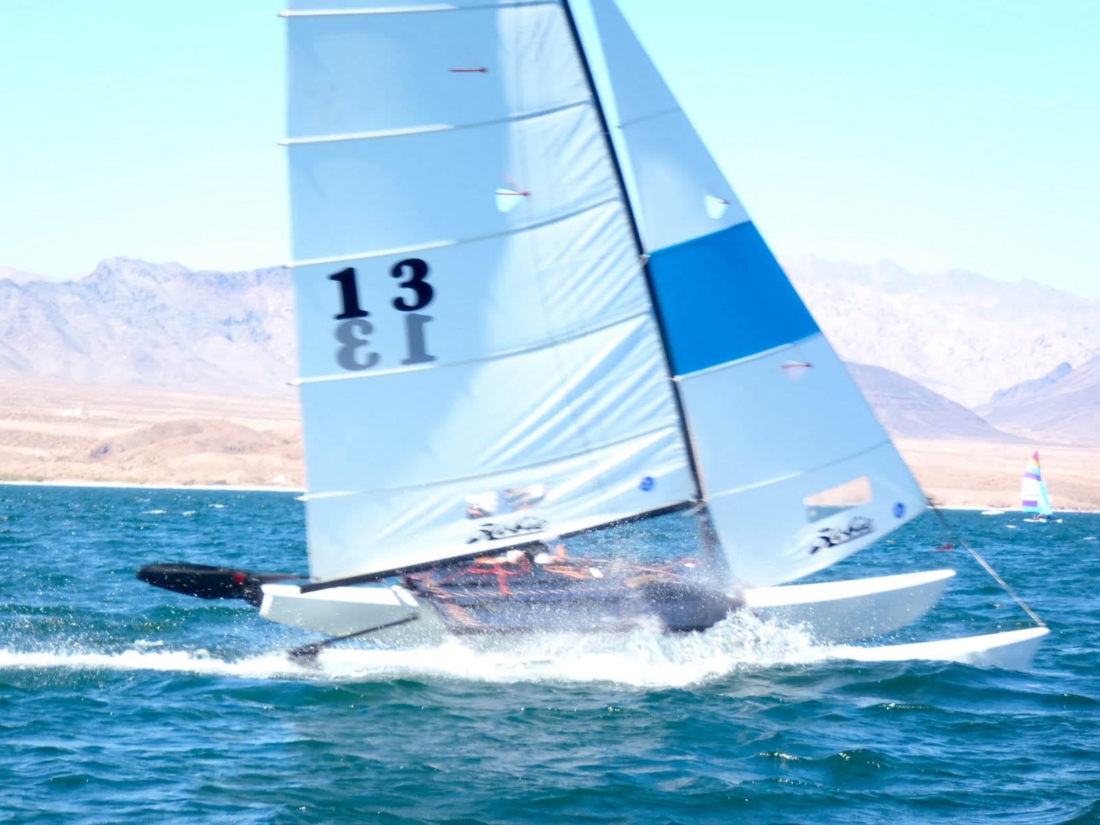 1ee26f2a96d ... A of 1.2 miles and courses were typically Start–A-B-A-Finish for a  total of 3.6 nautical miles. A total of 16 races were held over the course  of 5 days.