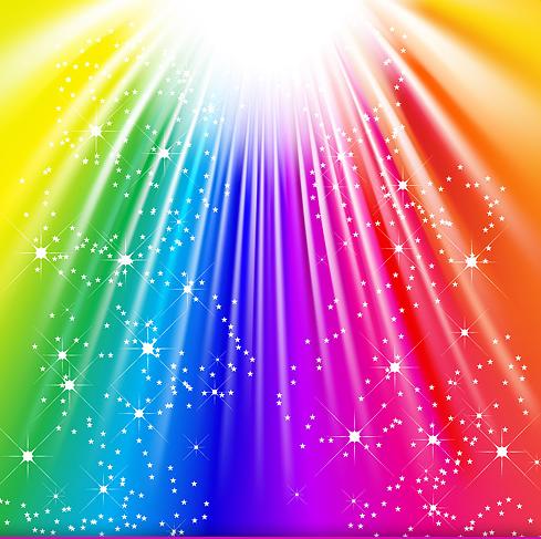 Fun Foto Editor Stock Vector Color Background